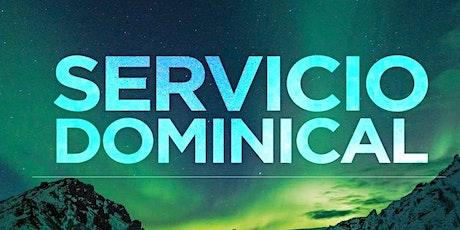 2° Servicio Dominical - Domingo 24 de Octubre entradas