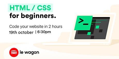 BUILD A LANDING PAGE IN 2H| Free workshop with Le Wagon Brasil tickets