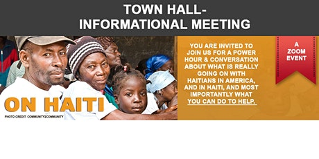 Town Hall - A Raw and Real Conversation about Haiti tickets