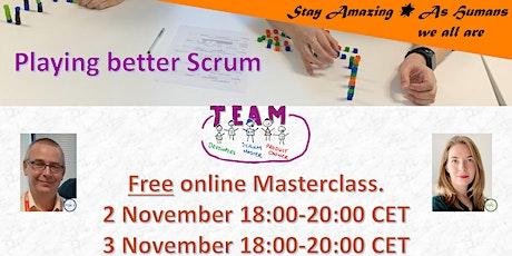 Masterclass - Playing better Scrum tickets