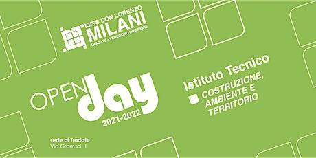 Open Day 2021/22 - Costruzioni, Ambiente e Territorio biglietti