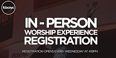 FCBC In-Person Worship Experience tickets