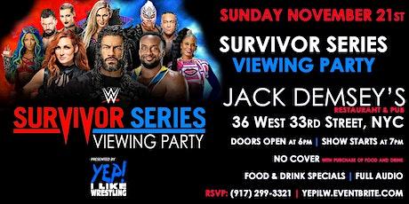WWE Survivor Series Viewing Party @ Jack Demsey's tickets