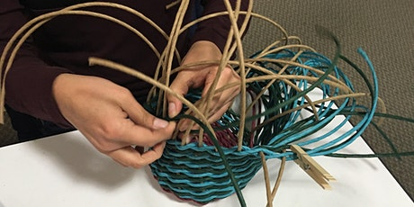 Basket Weaving Workshop: Twining with Paper Rush tickets