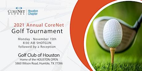 2021 Annual CoreNet Golf Tournament tickets