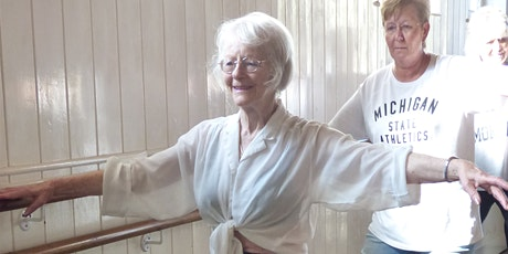 WELLBEING - BEGINNERS BALLET FOR THE OVER 55'S -  6 WEEK COURSE billets