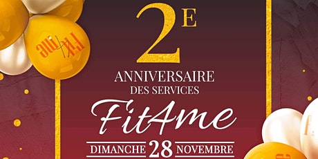 Fit4Me Anniversary tickets