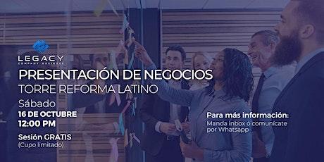 Proyecto Empresarial Legacy CB,  16 de Octubre (Sesión 12:00 PM) entradas