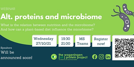 Alt. proteins and microbiome tickets