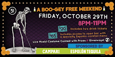 Espolon Halloween Party at Five Iron Pittsburgh tickets