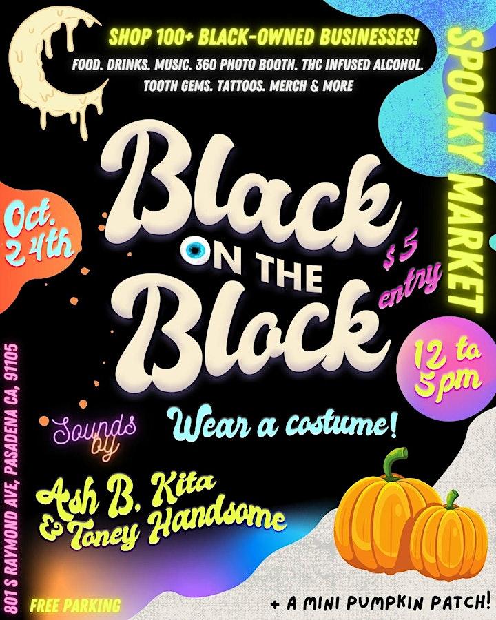 Black on the Block: October Spooky Market! image