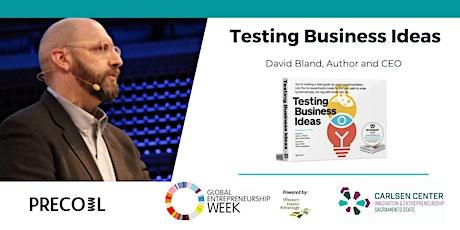GEW: Testing Business Ideas with David Bland tickets