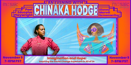 Chinaka Hodge: Inspiring the Social Change Superhero in All of Us tickets