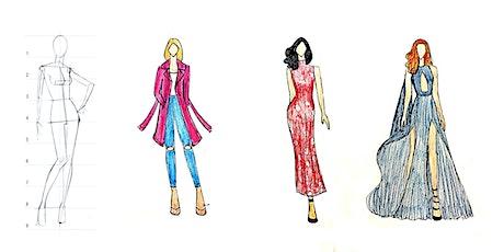 60 Min Fashion Design Club: 4 Week Series Friday's @ 5PM PST biglietti