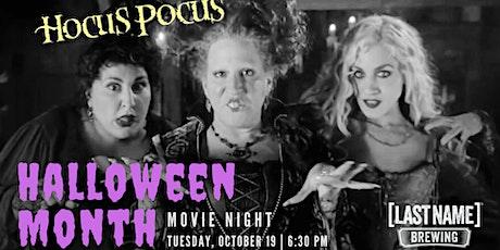 Halloween Month Movie Night: Hocus Pocus tickets