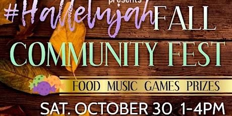 Hallelujah Fall Festival tickets
