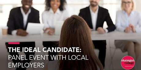 The Ideal Candidate: Panel Event with Local Employers tickets