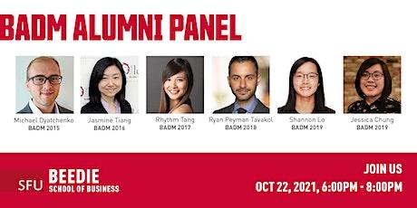 BADM Alumni Panel tickets