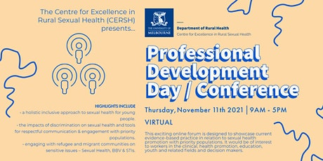 Professional Development Day/Conference tickets