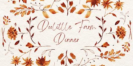 Doolittle Farm Dinner tickets