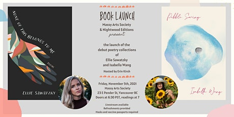 """Double Launch  /  Isabella Wang's """"Pebble Swing"""" and Ellie Sawatzky's """"None tickets"""