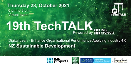 TechTalk #19 - NZ Sustainable Development Tickets