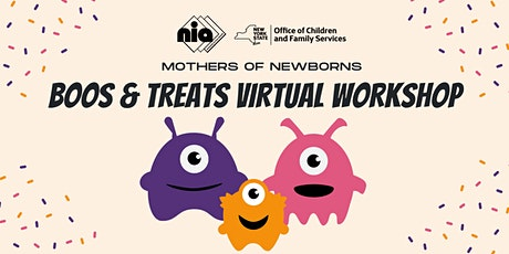 Boos & Treats Workshop for Mothers of Newborns tickets