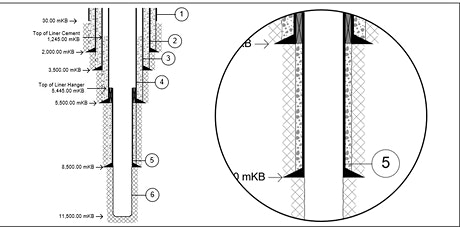Learn about Drawing Well Schematics - Starting with Casing and Open Holes tickets