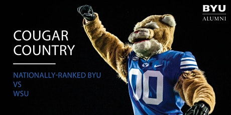 Cougar Country - BYU vs. WSU Football Game tickets