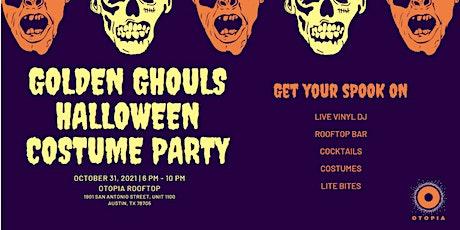 Golden Ghouls Halloween Costume Party @ Otopia Rooftop | Austin | FREE tickets