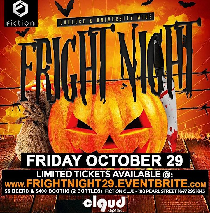 Fright Night 2021 @ Fiction | Fri Oct 29 image