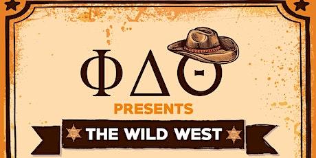 Phi Delta Theta Presents: The Wild Wild West tickets
