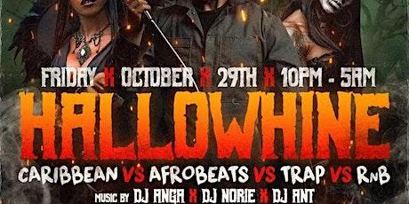 Hallowhine Caribbean vs Afrobeats vs Trap & RNB Scorpio  Night In Brooklyn tickets