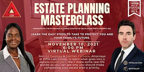 Estate Planning Masterclass tickets
