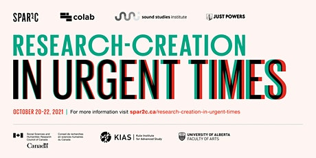 Research-Creation in Urgent Times tickets
