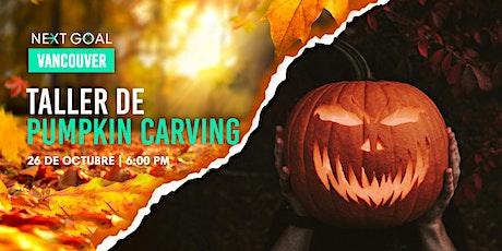 Taller de Pumpkin Carving tickets