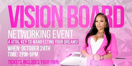 Manifest Your Dreams! Vision Board Networking Event (VIRTUAL) tickets