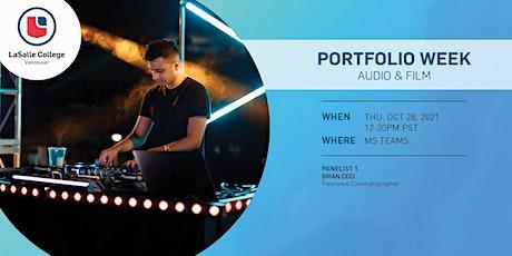 LaSalle College Vancouver | Portfolio Week: Film & Audio tickets