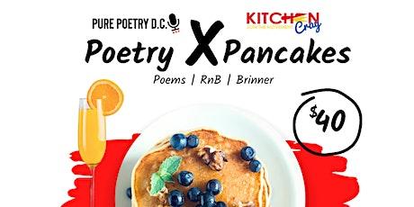 """PurePoetryDc & KitchenCray present """"Poetry x Pancakes"""" tickets"""