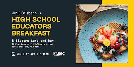 JMC Brisbane Educator's Breakfast tickets
