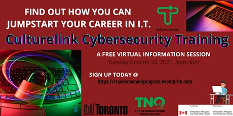 Culturelink Cybersecurity Training Information Session tickets