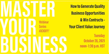 Master Your Business tickets