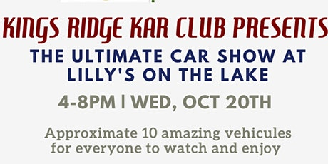 The Ultimate Car Show at Lilly's on the Lake in Clermont! tickets