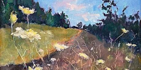 Oil Painting Saturday Studio Demo with Nancy Lee Davis, local artist tickets