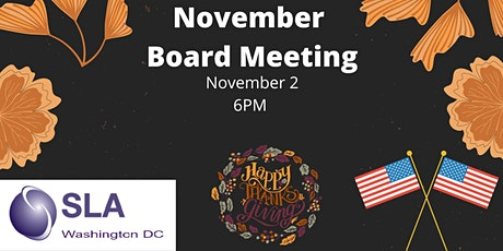 DC SLA November Board Meeting tickets