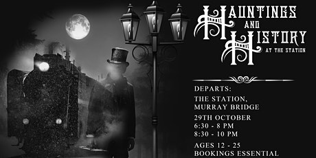 Hauntings & History At The Station tickets