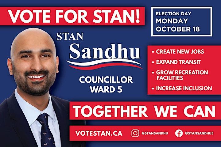 Stan Sandhu Ward 5 Virtual Town Hall image