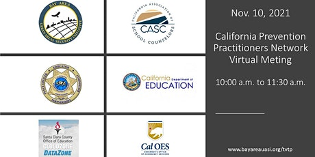 California Targeted Violence Prevention Practitioners Workgroup Meeting tickets