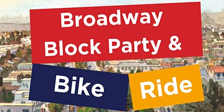 Broadway Block Party and Bike Ride tickets