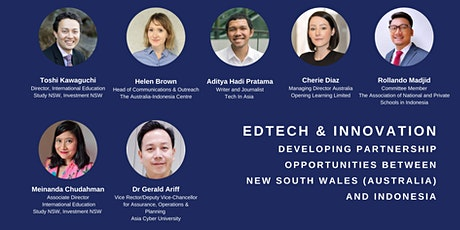 EdTech and Innovation: NSW (Australia) and Indonesia tickets